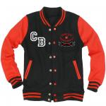 Fan Jacket *Erwachsene (black/red)