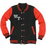 Fan Jacket Kids (black/red)