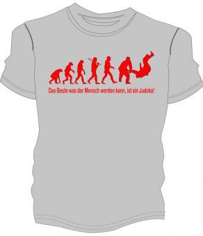 """Judo Shirt """"Judoevolution"""""""