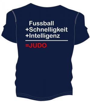"""Judo Shirt """"Fussball + ..."""""""